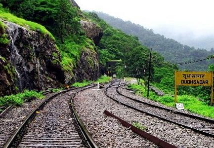 Dudhsagar Railway Station