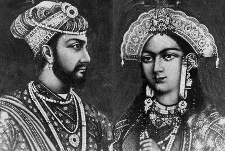 Shahjahan and Mumtaz Mahal