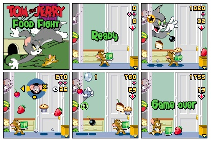 Tom & Jerry Food Fight
