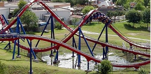 Superman: Krypton Coaster - Six Flags Fiesta, United States
