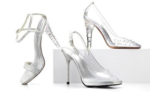 Cinderella Slippers by Stuart Weitzman