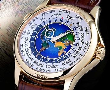 Patek Philippe 1939 Platinum World Time Watch