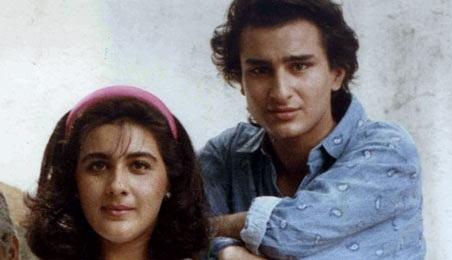 Amrita Singh-Saif Ali Khan