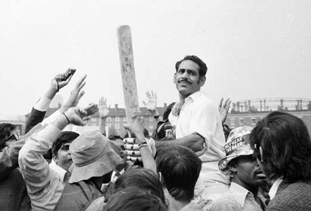 Victory over England and West Indies in Test Series of 1971