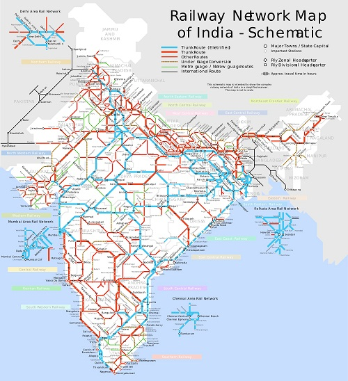 Indian Railway Network
