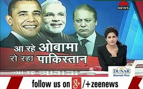 indian media on pakistan