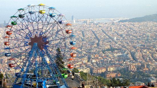 A visit to Tibidabo barcelona