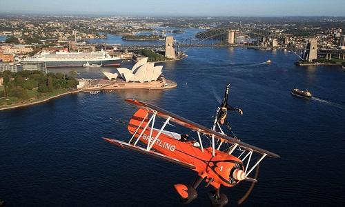 Have a flight above Sydney