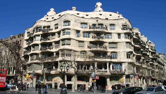 Modernist buildings at Barcelona