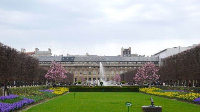 The Palais-Royal Gardens