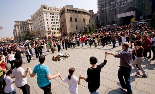 Traditional Catalan Dance
