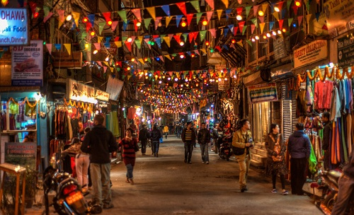 Walk in Thamel