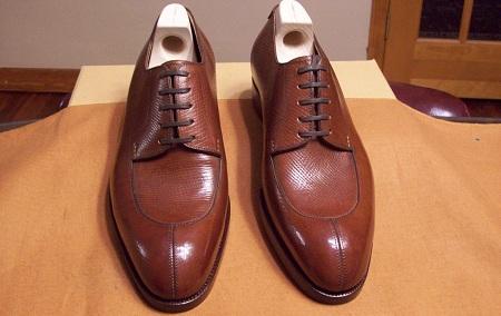 New & Lingwood Russian Calf Shoes