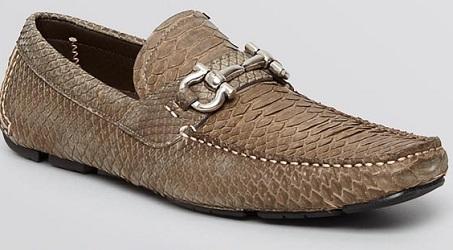 Salvatore Ferragamo Python Loafer