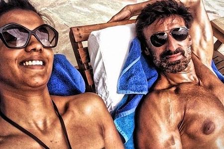 Rahul Dev and Mugdha Godse
