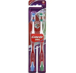close up toothbrush