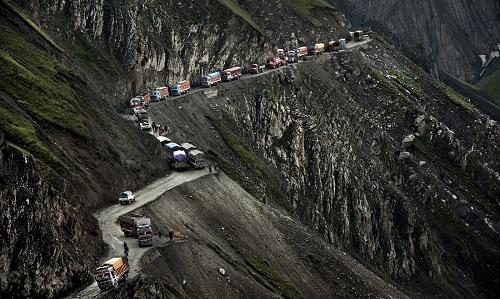 The Zoji Pass - India