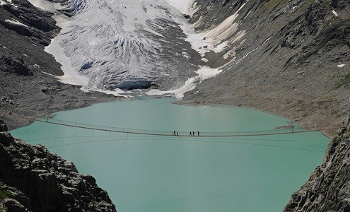 Trift Bridge - Switzerland