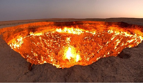 Darvaza Gas Crater – Turkmenistan