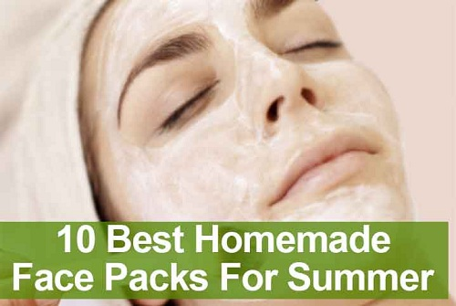 Face Packs for Summer