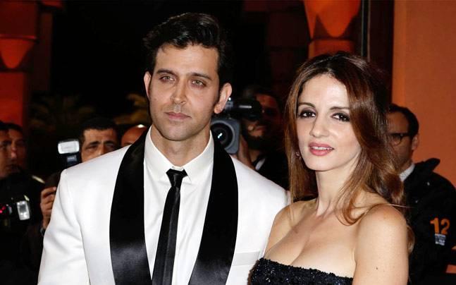 Hrithik Roshan and Sussanne Khan