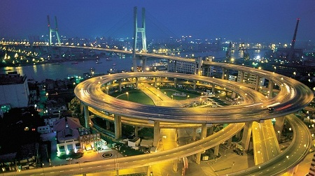 Nanpu Bridge - Shanghai, China