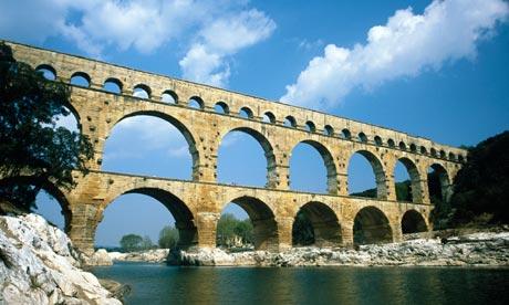 Pont du Gard Aqueduct - Gard, France