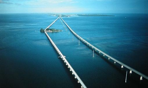Seven Mile Bridge, in Florida