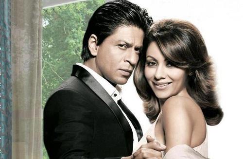 Shah Rukh Khan and Gauri Chhibba
