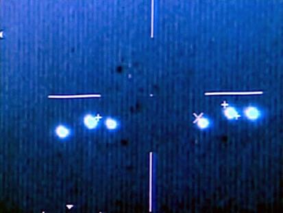 UFO over farming community