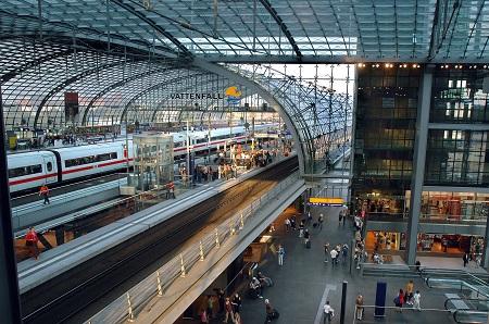 Berlin Hauptbahnhof in Germany