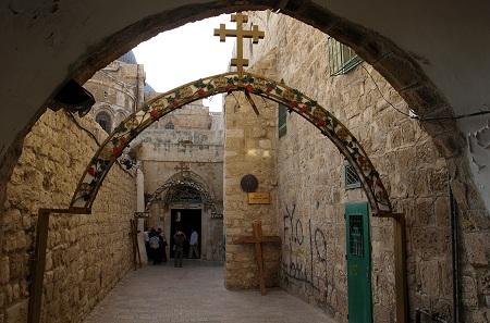 Via Dolorosa in Jerusalem