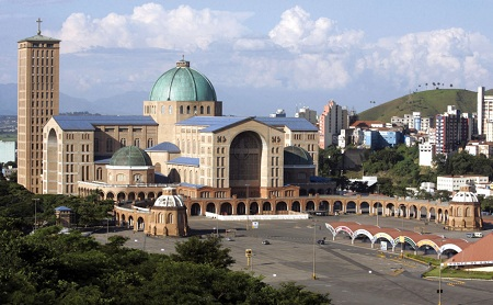 Basilica Of The National Shrine Of Our Lady Of Aparecida, Aparecida, Brazil