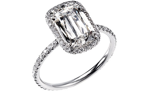 An Engagement Ring by Lorraine Schwartz Platinum