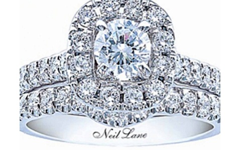 Blue Diamond Engagement Ring From Neil Lane