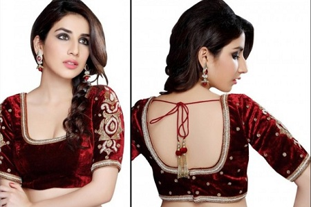 Blouse with Artistic Sleeves