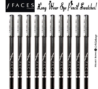 Faces Long Wear Eyeliners