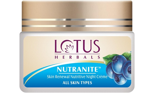Lotus Herbals Nutranite Skin Renewal Cream