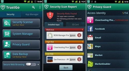 Trust Go Antivirus and Mobile Security