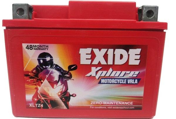 Exide Xplore Xltz4 Bike Battery