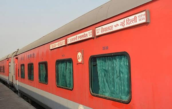 Sealdah-New Delhi Rajdhani Express