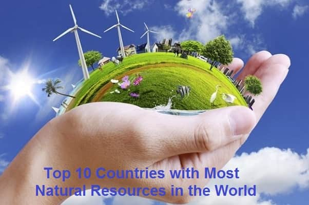 Countries with most Natural Resources