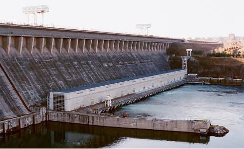 Bratsk Dam, Russia