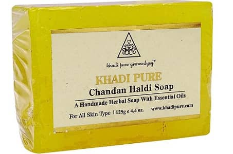 Khadi Haldi Chandan Fairness Soap