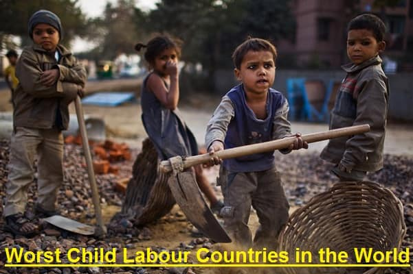 Worst Child Labour Countries