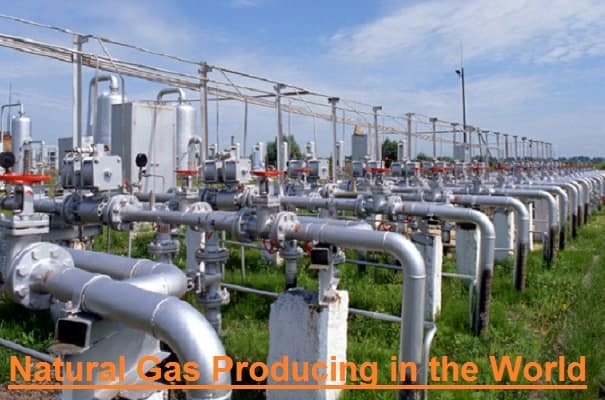 natural gas producing
