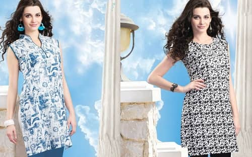 White Magic Kurti